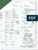 Calc 1 Midterm 2 Review