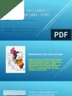 Plantas de Tratamiento de Aguas en Lima Ppt