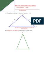Guia de Geometria Puntos Notables Del Triangulo