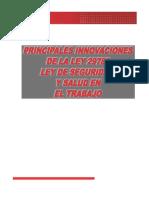 PRINCIPALES INNOVACIONES DE LA LEY 29783.pdf