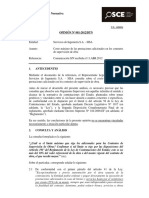 Opinión OSCE 081-12-2012 - Prestaciones Adicionales en Los Contratos de Supervisión de Obra