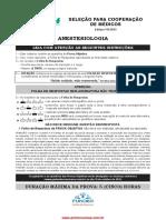 Medico Anestesiologia