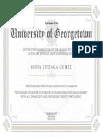 PhD Replica Degree Certificates