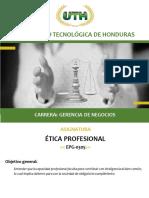 Modulo I Etica Profesional