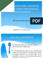 Como afrontar las crisis personales e institucionales con Exitos