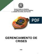 207850720 Policia Federal Gerenciamento de Crises
