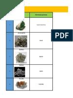 Minerales  Completo