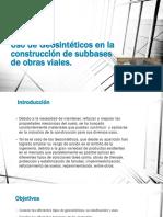 Geotextil en subbase Presentación geomalla.pptx
