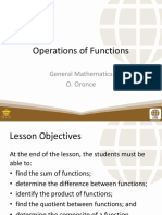 3 Operations on Functions