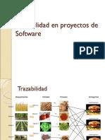 Trazabilidad Software