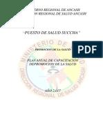4.- Plan Anual de Capacitacion de Promsa