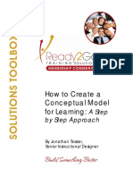 Conceptual Modeling Toolbox Step by Step