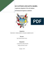 Cuestionario Procesos y Operaciones Ambientales