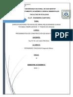 Informe de Procedimientos