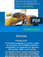 Alimentacion en Adultos Mayores Con Estreñimiento y Diarreas