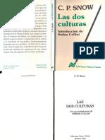 Dos Culturas - CP Snow.pdf