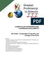 6th Grade Earth Properties