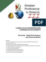 7th Grade Earth Systems