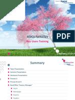 ASICS Factories - Key Users Training