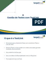 8. Gestão de Documentação Com o TestLink