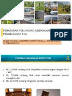 03_PPT Peraturan Perundangan SDA Pasca MK