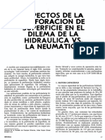 Aspectos Perforacion de Superficie en Dilema de Hidraulica vs. Neumatica (Peter l. Edmunds)