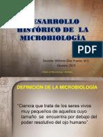1.- Desarrollo Histórico de La Microbiología