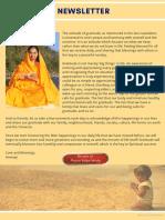 Purna Vidya Newsletter May 2019