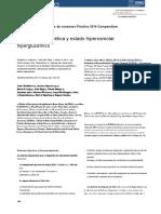 Cetoacidosis y Estado Hiperosmolar Pediatria