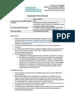 Evaluación parcial Antropología Pedagógica