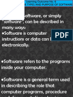 Kinds of Software