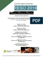Trod Conciertos Ingreso 2019