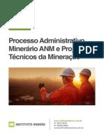 Prospecto - Curso de Processo Administrativo Minerário ANM e Projetos Técnicos Da Mineração - SSA