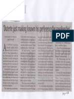 Business Mirror, June 26, 2019, duterte just making known his preference for speakership.pdf