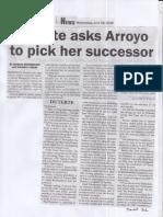 Malaya, June 26, 2019, Duterte asks Arroyo to pick her successor.pdf