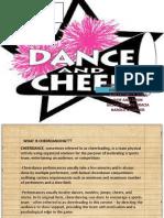 Cheer Dance Powerpoint
