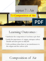 7.1 Composition of Air