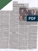 Philippine Star, June 26, 2019, Duterte tells GMA Pick your replacement as speaker.pdf