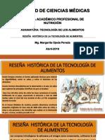 Diapositivas Reseña Histórica de La Tecnología de Alimentos