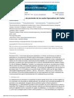 Bacterias Reductoras de Perclorato de Los Suelos Hipersalinos Del Caribe Colombiano