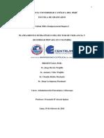 Planeamiento Estrategico Del Sector de Vigilancia y Seguridad Privada en Colombia
