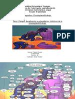 Psicologia Del Trabajo. Mapa Conceptual.