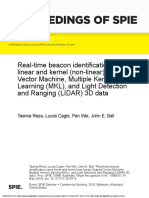 Real-time Beacon Identification Using Linear and Kernel (Non-linear) Support Vector Machine, Multiple Kernel Learning (MKL), And Light Detection and Ranging (LIDAR) 3D Data
