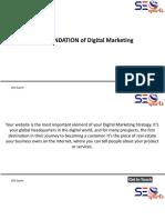 FOUNDATION of Digital Marketing