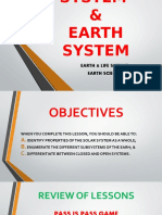Solar & Earth System