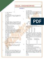 F7510610IES Obj Electrical Engineering 2009 Paper II