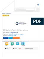 2019 Coalition for Physician Well-Being Conference   Physician burnout   Coalition for Physician Well-Being   eMedEvents