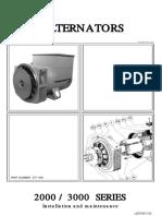 LEGF4872-00 Alternators 2000 and 3000 Series Manual