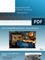 Agglomeration Activities in Waste to Value Gro Eide