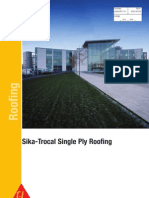 Sika-Trocal Single Ply Roofing